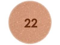N°22 Brun orangé nacré