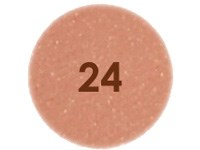 N°24 Brun rouge nacré