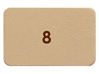 N°008 - Beige jaune mat