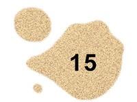 N°15 - Bronze pailleté