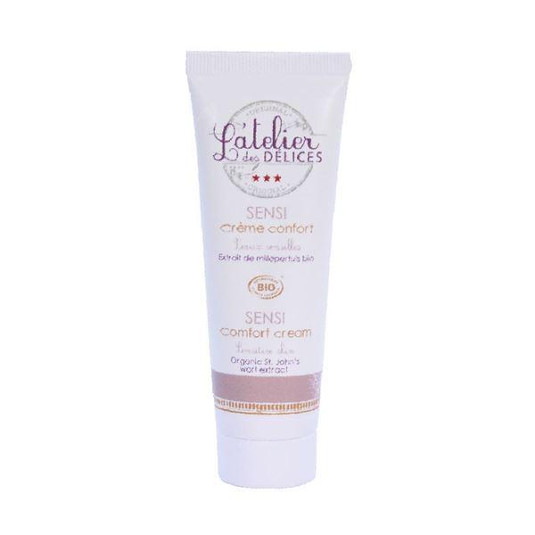 Immagine di Crema viso comfort per pelle sensibile L'Atelier des Délices