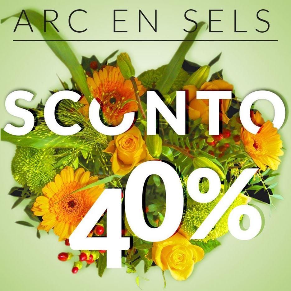 SCONTO 40% ON LINE
