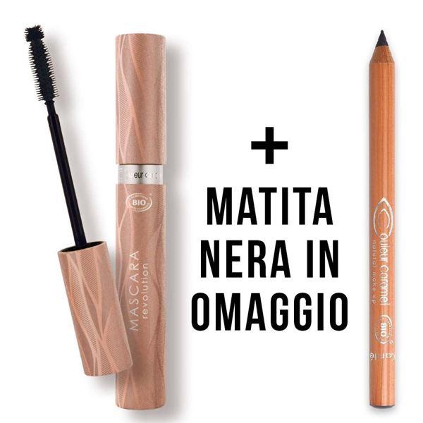 Immagine di Mascara revolution e matita nera omaggio Couleur Caramel