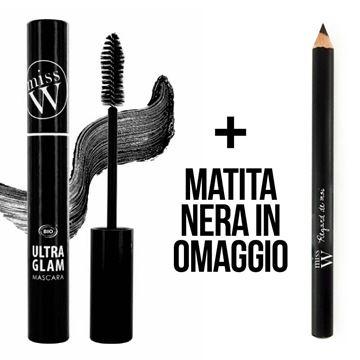 Immagine di Mascara ultra glam e matita nera omaggio Miss W
