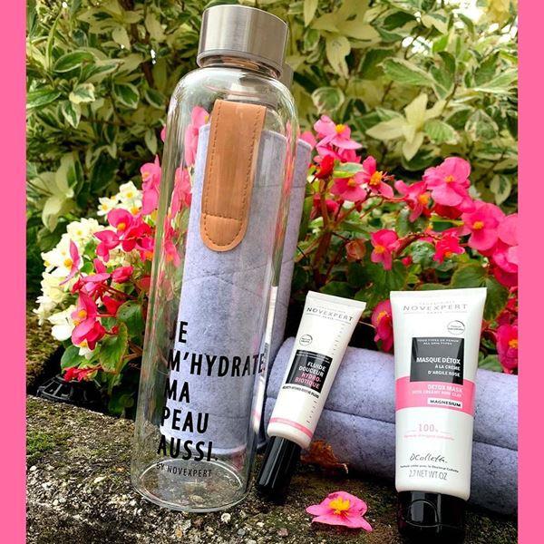 Kit skincare  eco-bottiglia omaggio Novexpert