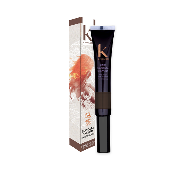 Mascara per capelli Ton sur Ton n.4 châtain moyen K pour Karité