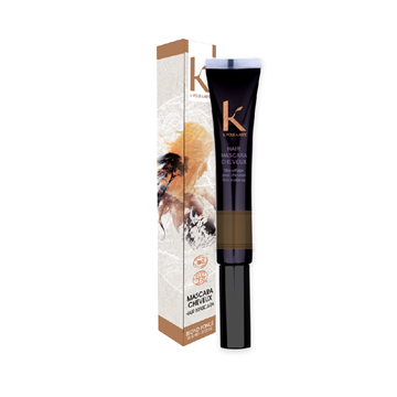 Mascara per capelli Ton sur Ton n.6 châtain foncé K pour Karité