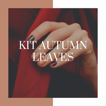 KIT manicure autumn leaves