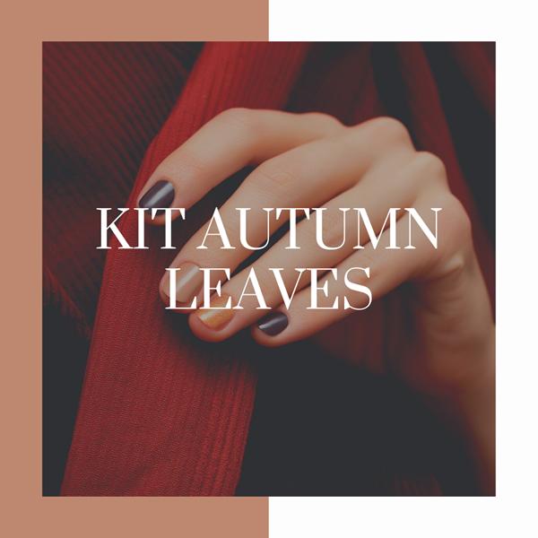 KIT manicure autumn leaves
