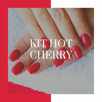 KIT manicure hot cherry