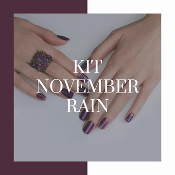 KIT manicure NOVEMBER RAIN